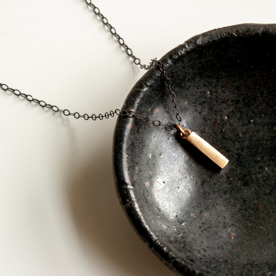 Edgy Mini Bar Necklace