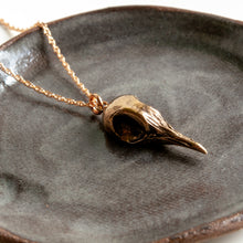 Load image into Gallery viewer, Greater Coucal Skull Necklace