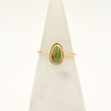 Load image into Gallery viewer, Royston Turquoise & Gold-filled Stacker Ring - Size 9