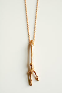 Forked Twig Necklace