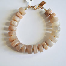 Load image into Gallery viewer, Peach Moonstone Bracelet