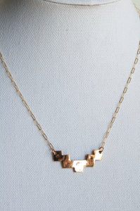Geometric Southwestern Necklace