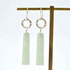 Gemstone Bar Dangles