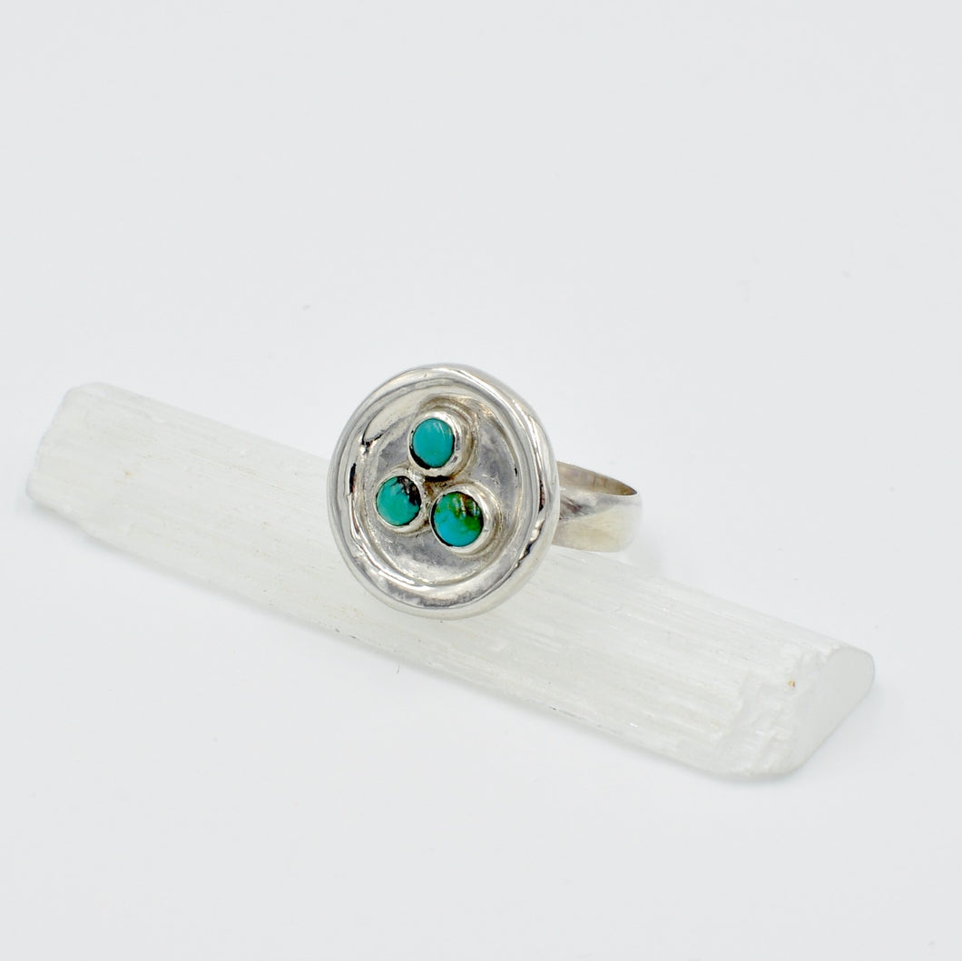 Mod Bird's Nest Ring - Size 8