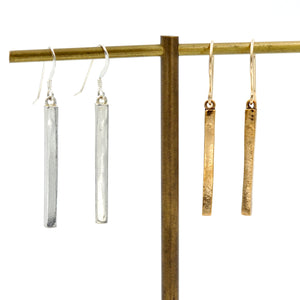 Long Bar Dangle Earrings