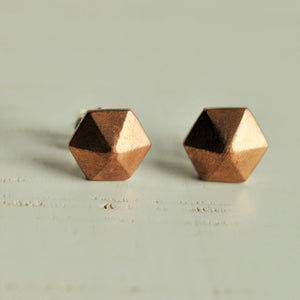 Hexagon Pyramid Studs