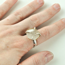 Load image into Gallery viewer, Crystal Geode Statement Ring - Size 8-1/2