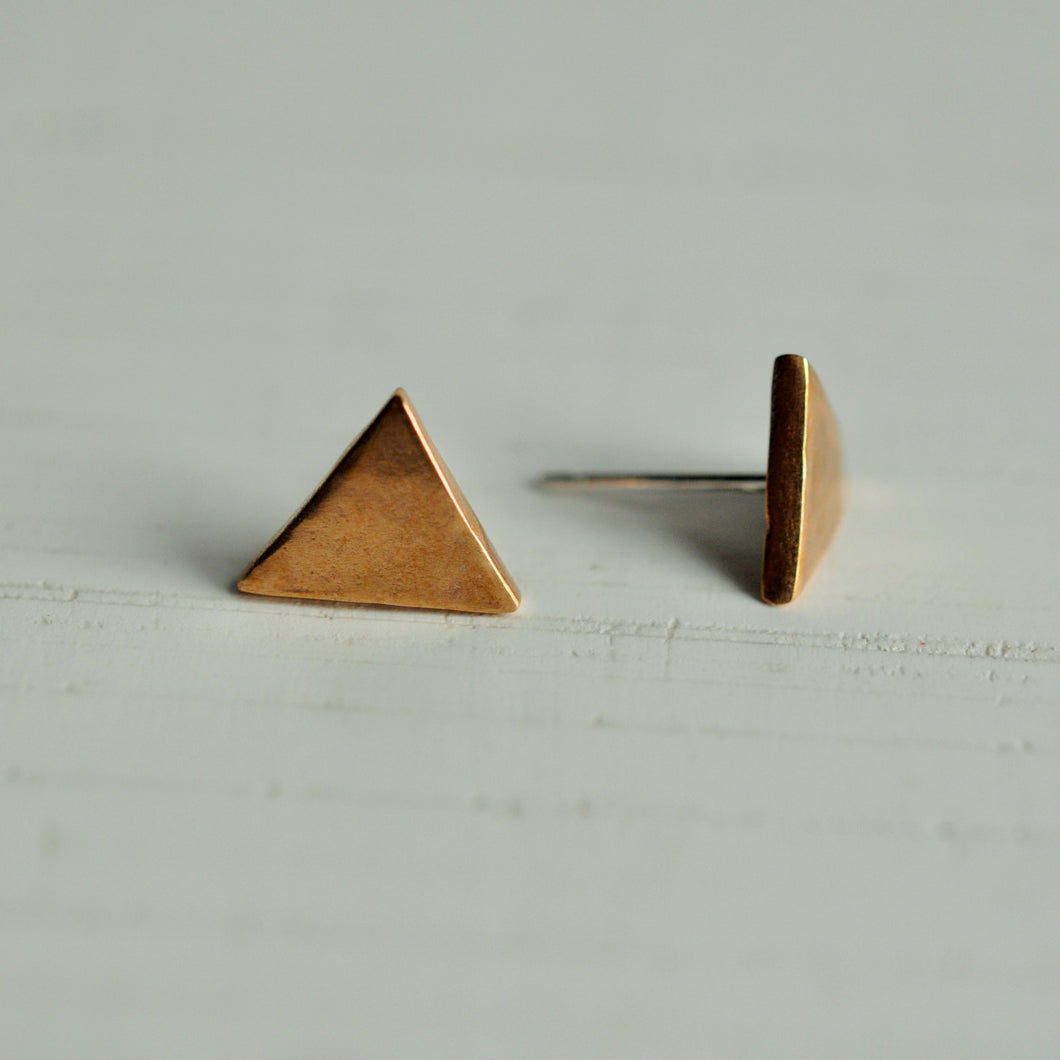 Tiny Triangle Studs