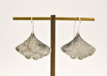 Load image into Gallery viewer, Ginkgo Leaf Earrings