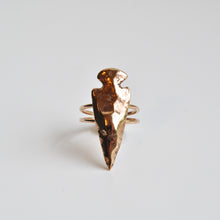 Load image into Gallery viewer, Large Arrowhead Ring