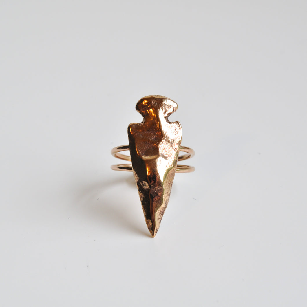 Large Arrowhead Ring