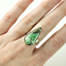 Load image into Gallery viewer, New Lander Variscite Teardrop Ring - Size 7