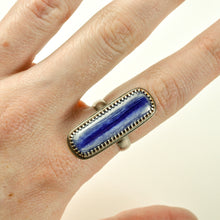 Load image into Gallery viewer, Long Kyanite Statement Ring - Size 8