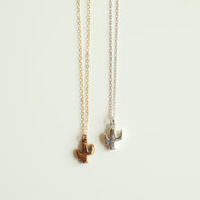 Load image into Gallery viewer, Tiny Saguaro Cactus Necklace