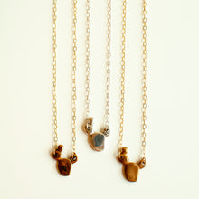 Load image into Gallery viewer, Petite Prickly Pear Cactus Necklace