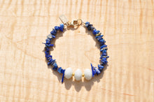 Load image into Gallery viewer, Beaded Bracelet - Lapis Lazuli and Czech Glass