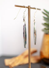 Load image into Gallery viewer, Imperial Kyanite Sterling Frame Drop Earrings