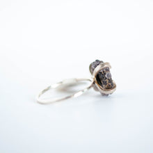 Load image into Gallery viewer, Purple Stalactite Slice Ring - Size 9-1/2