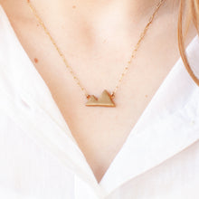 Load image into Gallery viewer, Small Mountains Necklace