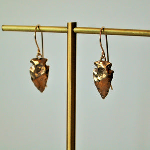 Medium Arrowhead Dangles