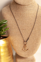 Load image into Gallery viewer, Anchor Necklace