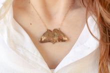 Load image into Gallery viewer, Ginkgo Biloba Butterfly Leaf Necklace