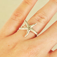 Load image into Gallery viewer, Starfish Ring