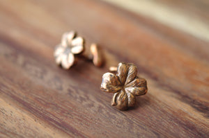 Four-Leaf Clover Cuff Links