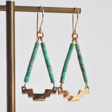 Load image into Gallery viewer, Southwestern Geometric Earrings