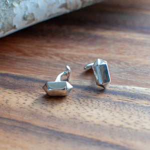 Double Terminated Point Cuff Links