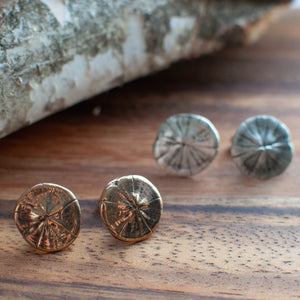 Sand Dollar Cuff Links