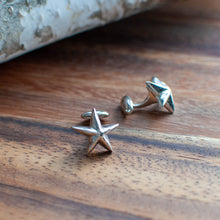 Load image into Gallery viewer, Nautical Star Cuff Links