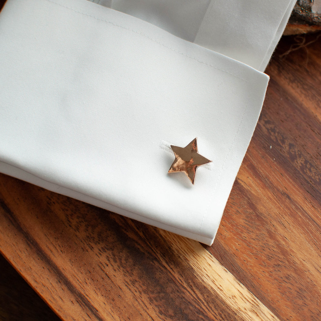 Bronze Star Cuff Links