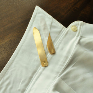 Brass Collar Stays