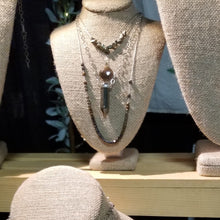 Load image into Gallery viewer, Pyrite Spike Necklace