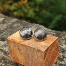 Load image into Gallery viewer, Pyrite Cuff Links