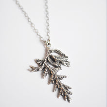 Load image into Gallery viewer, Large Evergreen Sprig Necklace