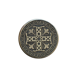 Set Bottoni - Silver Celtic Cross