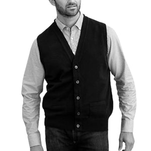 Gilet in Cashmere - POCKETS EWAN