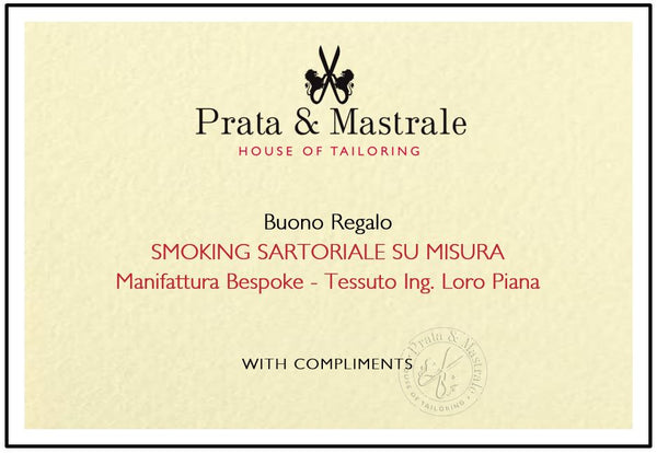 Gift Card - SMOKING BESPOKE LORO PIANA