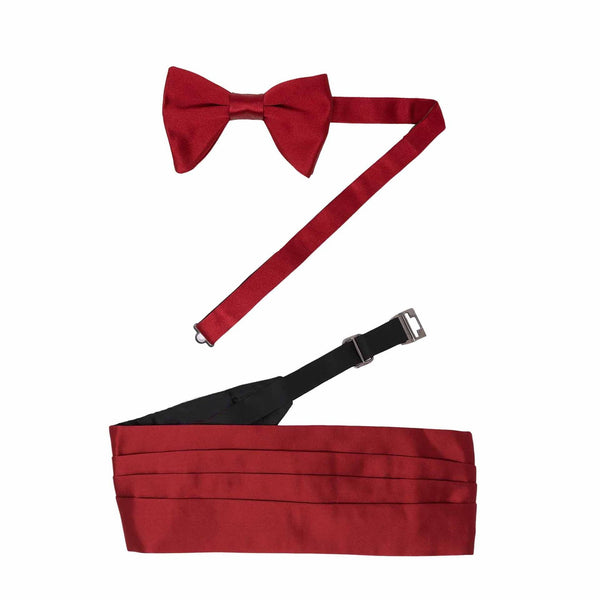 Fascia e Papillon - RED KIT PRE-TIED BUTTERFLY