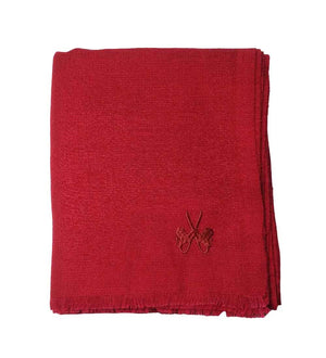 Sciarpa in Cashmere – PURE RED DIAMOND