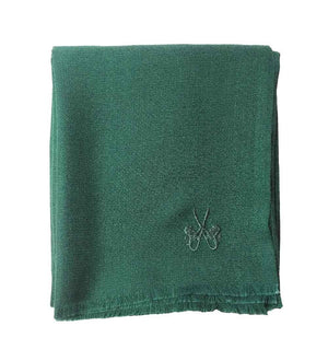 Sciarpa in Cashmere – PINE GREEN DIAMOND