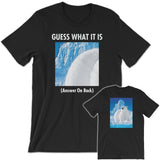 GUESS THAT POLAR BEAR Unisex Short-Sleeve T-Shirt Black