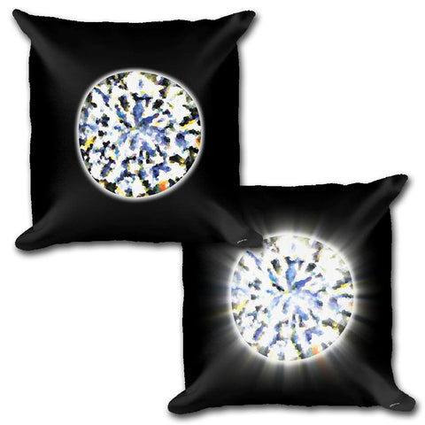 DIAMOND Reversible Decorative Throw Pillow 18""