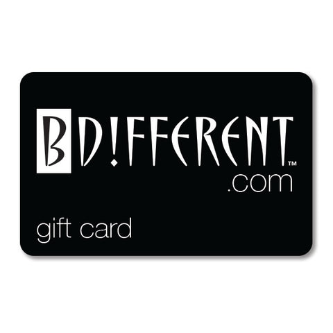 BDIFFERENT.COM e-GIFT CARD