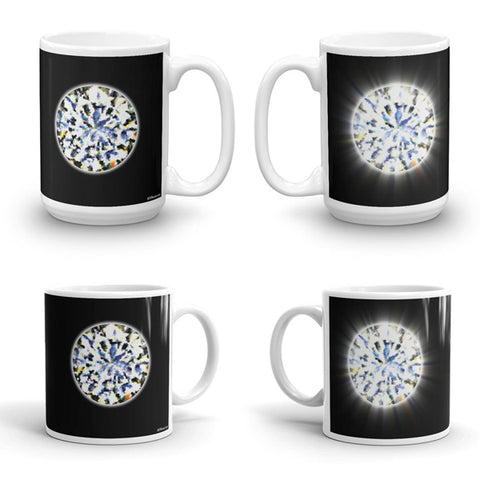 DIAMOND Double-Sided Coffee Mug Tea Cup 11oz & 15oz