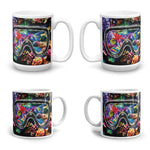 CORAL REEF Double-Sided Coffee Mug Tea Cup 11oz & 15oz