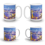 LONDON EYE Double-Sided Coffee Mug Tea Cup 11oz & 15oz