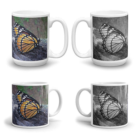 BUTTERFLY Double-Sided Coffee Mug Tea Cup 11oz & 15oz